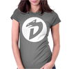 DinoSaucers 80s Cartoon Womens Fitted T-Shirt