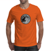 Dinosaur bike and moon Mens T-Shirt