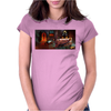 Dio Dream Evil Album Womens Fitted T-Shirt