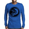 Dirt Bike Helmet Racing Mens Long Sleeve T-Shirt