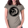 Dirt Bike Helmet Racing Womens Fitted T-Shirt