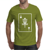 DISC GOLF ACE CARD TARGET CHAINS FRISBEE BASKET Mens T-Shirt
