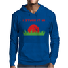 DISC GOLF DIRTY SEX JOKE PUN GROUND PENETRATION Mens Hoodie
