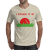 DISC GOLF DIRTY SEX JOKE PUN GROUND PENETRATION Mens T-Shirt