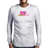 Disco Love Graphic Mens Long Sleeve T-Shirt