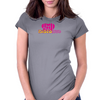Disco Love Graphic Womens Fitted T-Shirt