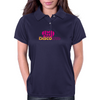 Disco Love Graphic Womens Polo