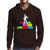 Disco Man On Dance Floor Mens Hoodie