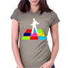 Disco Man On Dance Floor Womens Fitted T-Shirt