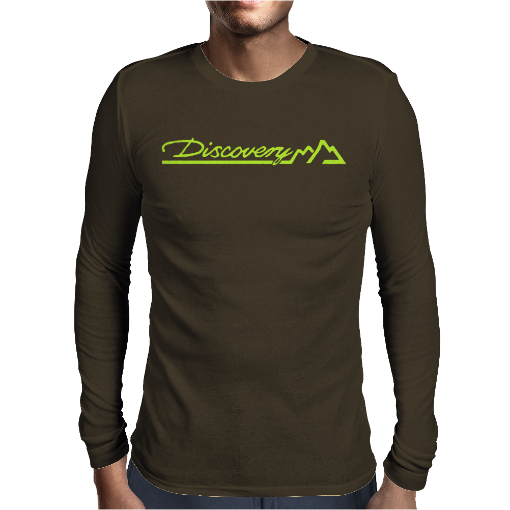 Discovery Mens Long Sleeve T-Shirt