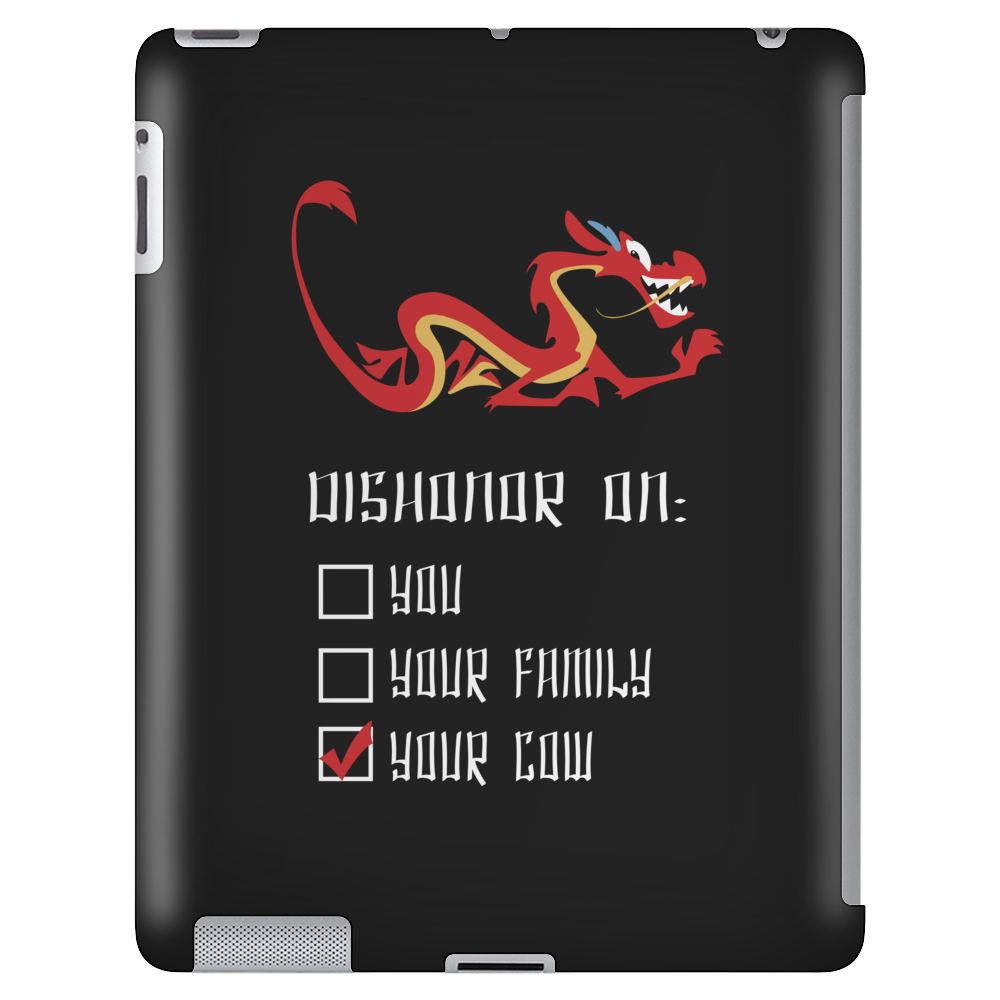 DISHONOR! Tablet (vertical)
