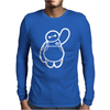 Disney Big Hero 6 Baymax Mens Long Sleeve T-Shirt