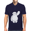 Disney Movie Big Hero 6 Baymax Waving Mens Polo