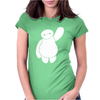 Disney Movie Big Hero 6 Baymax Waving Womens Fitted T-Shirt