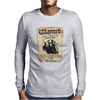 Disney Pirates Of The Caribbean Poster Wanted Jack Sparrow Mens Long Sleeve T-Shirt