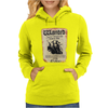 Disney Pirates Of The Caribbean Poster Wanted Jack Sparrow Womens Hoodie