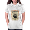 Disney Pirates Of The Caribbean Poster Wanted Jack Sparrow Womens Polo