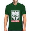 Disobey Anonymous Mens Polo