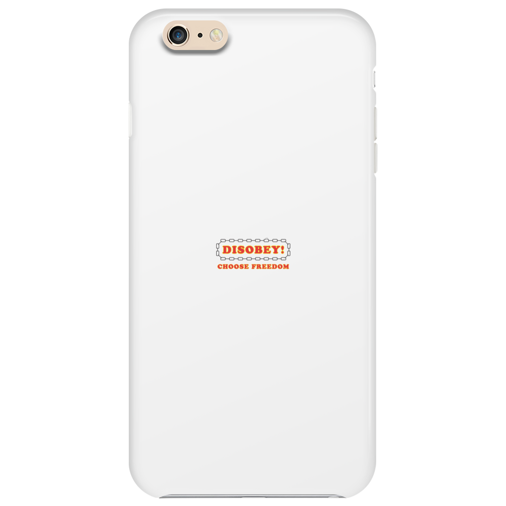 Disobey Choose Freedom Phone Case