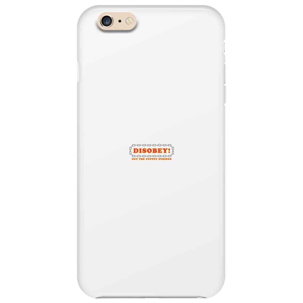 Disobey Cut Strings Phone Case