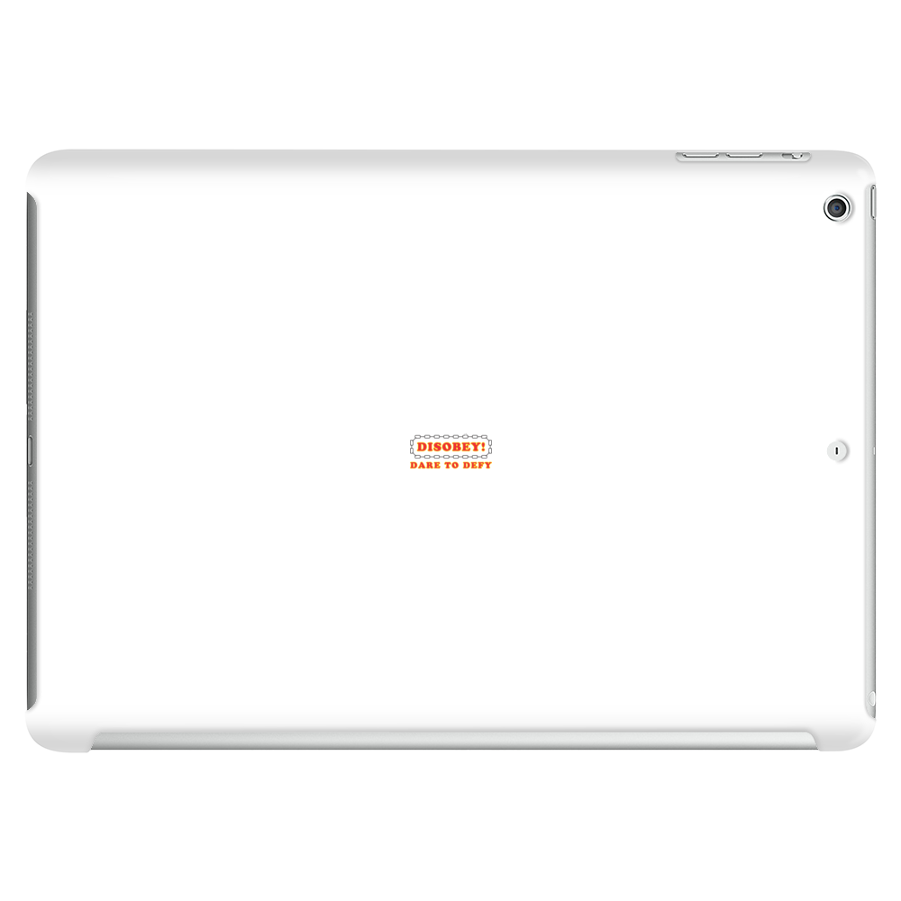 Disobey Dare Defy Tablet (horizontal)