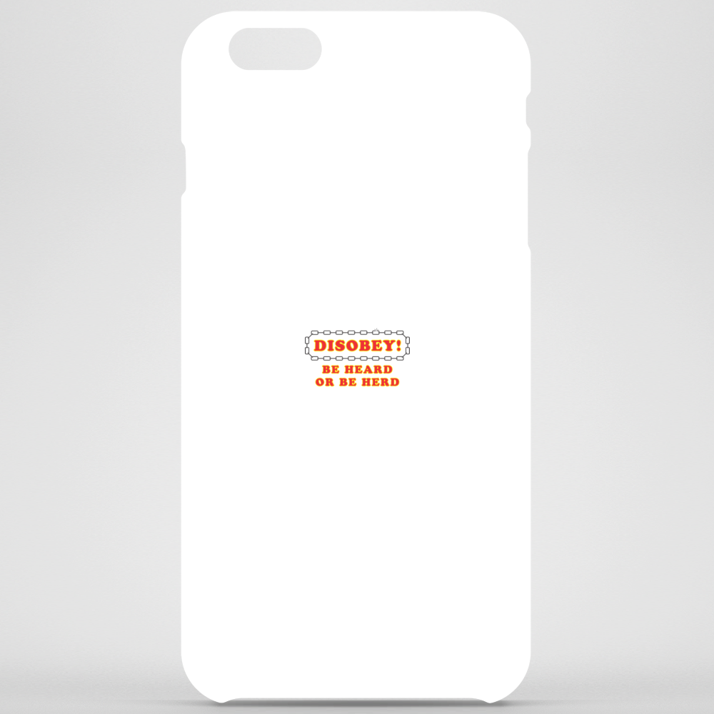 Disobey Heard or Herd Phone Case