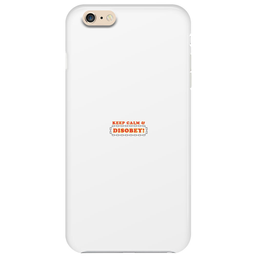 Disobey Keep Calm Phone Case