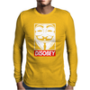 Disobey Mens Long Sleeve T-Shirt