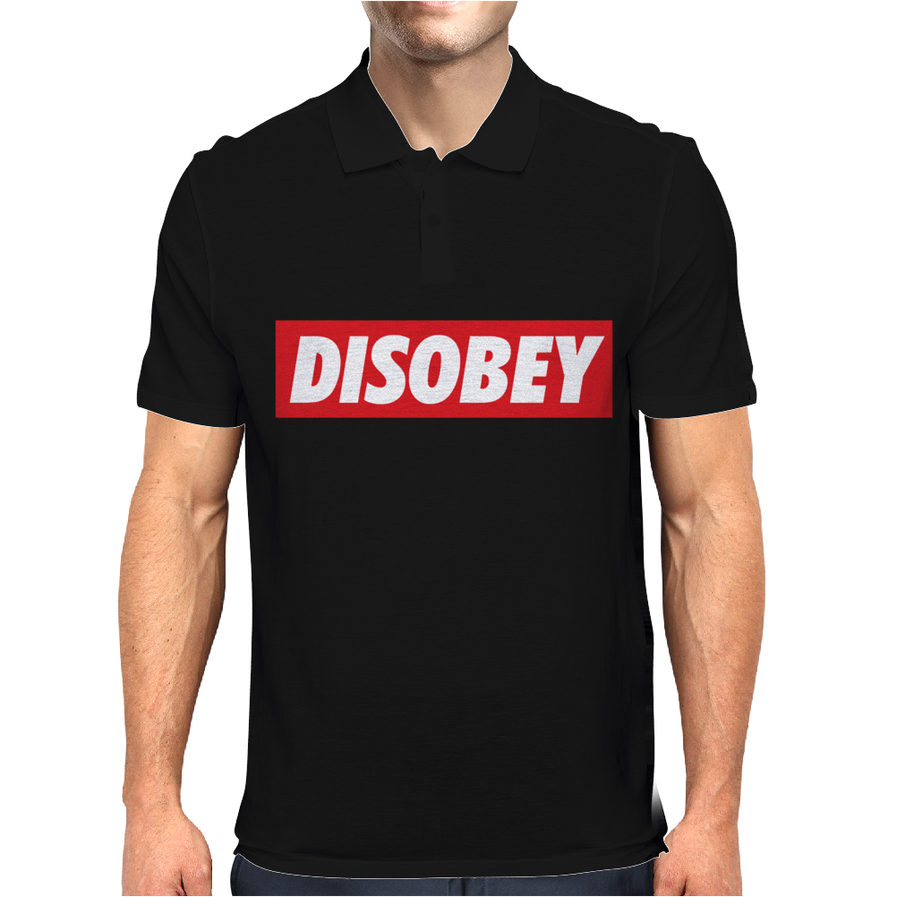 Disobey Mens Polo