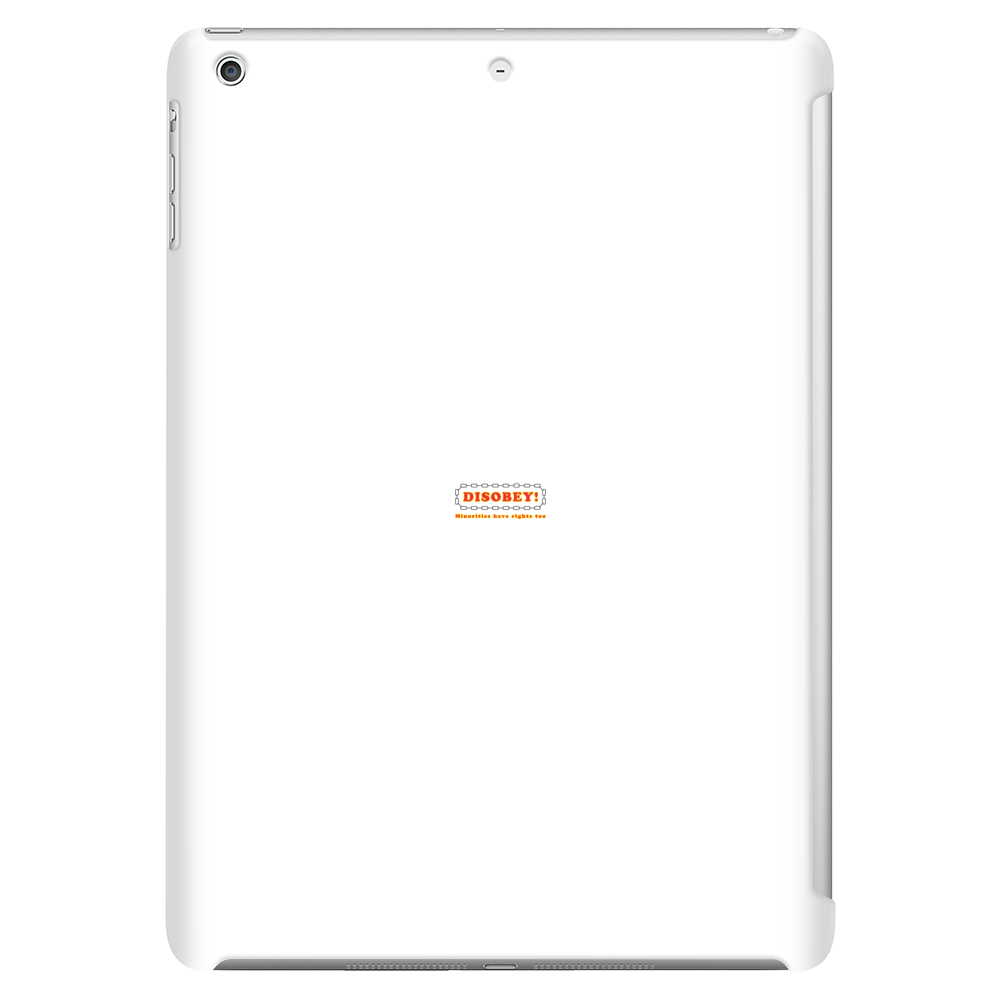Disobey Minority Rights Tablet (vertical)