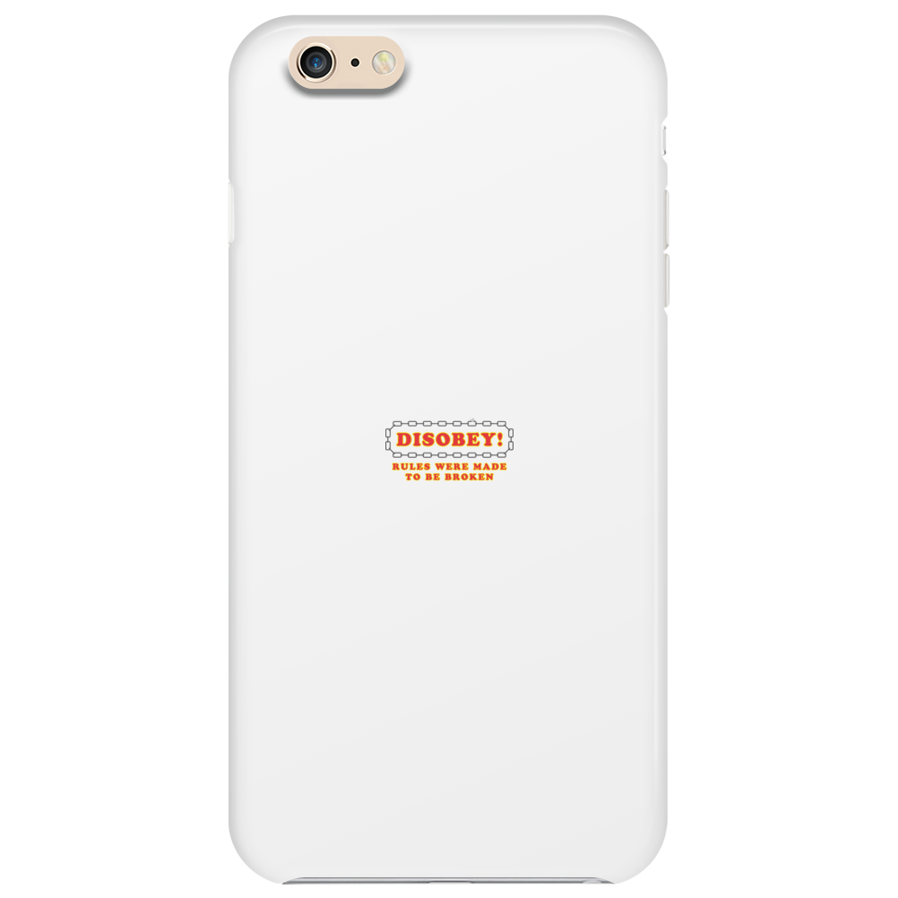 Disobey Rules Broken Phone Case
