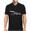 Diva funny Mens Polo