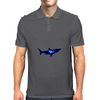 diver and shark Mens Polo