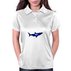 diver and shark Womens Polo