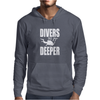 Divers Do It Deeper Mens Hoodie