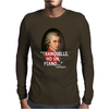 Divertente Mozart Idea Regalo Road To Happiness Mens Long Sleeve T-Shirt