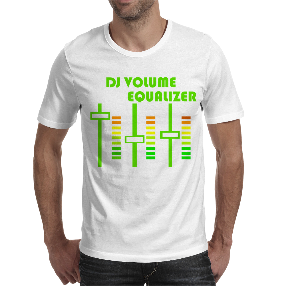 dj volume,funny Mens T-Shirt