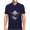 DJ Yoda ~ Mens Funny Retro Star Wars Mens Polo