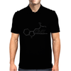 DMT Molecule Black/White - N,n-Dimethyltryptamine Mens Polo