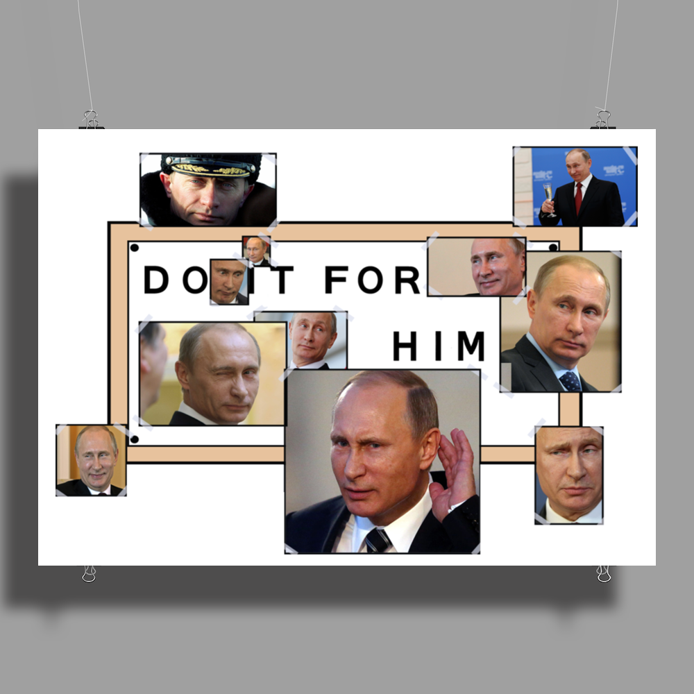 Do it for Putin Poster Print (Landscape)