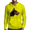 Doberman Dog Animal Pet Mens Hoodie