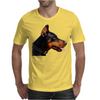 Doberman Dog Animal Pet Mens T-Shirt