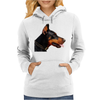 Doberman Dog Animal Pet Womens Hoodie