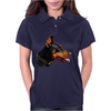 Doberman Dog Animal Pet Womens Polo
