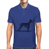 Doberman Pinscher Dog Breed Revision Mens Polo