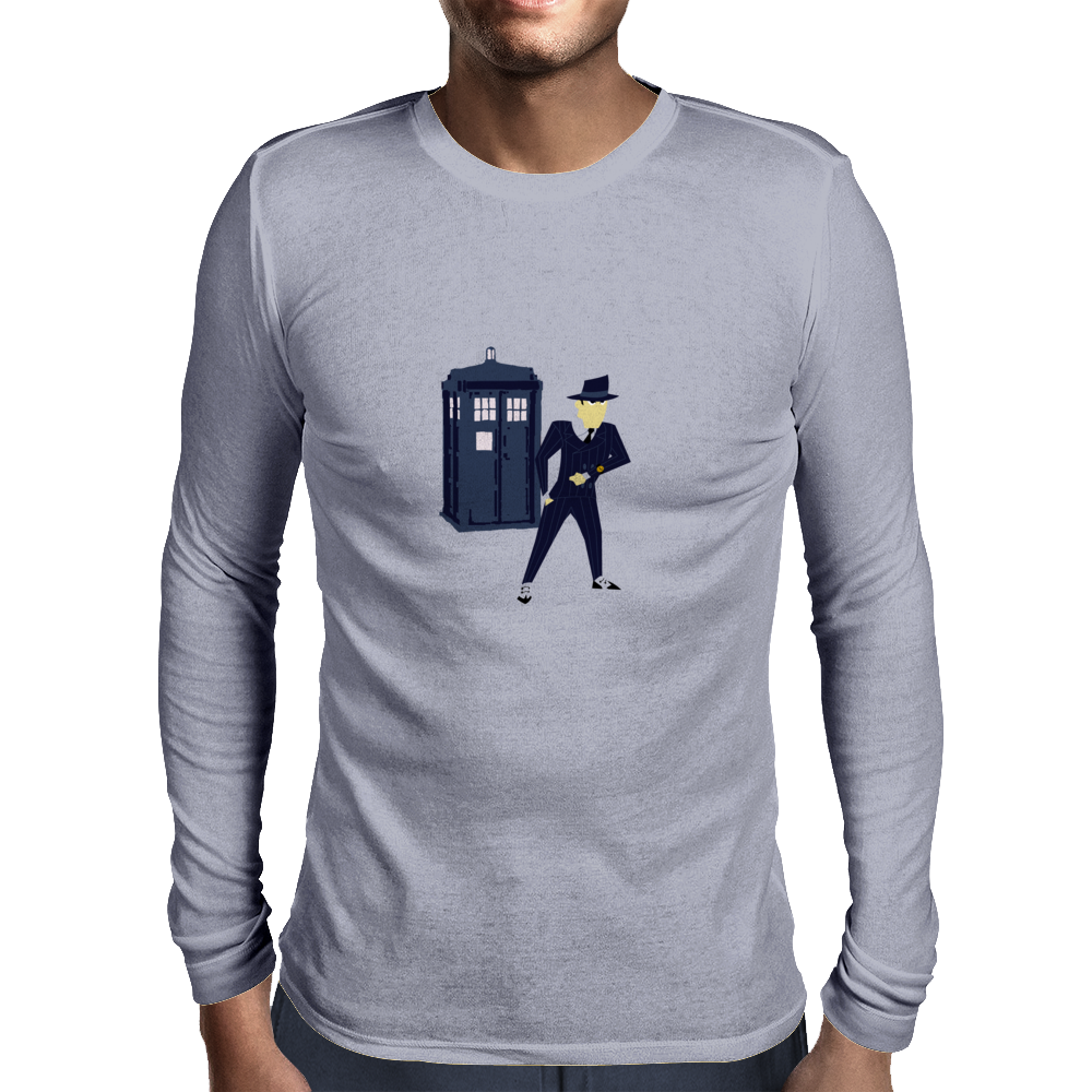 Doctor Jack Mens Long Sleeve T-Shirt