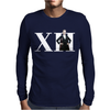 Doctor Who 12th Doctor Roman Numerals Mens Long Sleeve T-Shirt