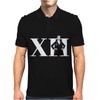 Doctor Who 12th Doctor Roman Numerals Mens Polo