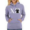 Doctor Who 12th Doctor Roman Numerals Womens Hoodie