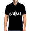 Doctor Who Bad Wolf Logo Mens Polo